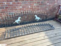 Wrought Iron Railings / Wall Toppers