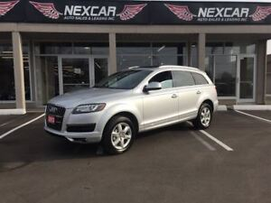 2013 Audi Q7 3.0L AUTO AWD NAVI PANORAMIC ROOF 7 PASS 93K