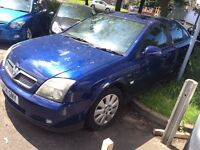 Vauxhall Vectra 2004 Model Blue 2.0 Diesel NO MOT NO TAX SELLING AS SPARES OR REPAIRS