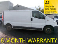 Vauxhall, VIVARO, Panel Van, 2013, Manual, 1995 (cc)