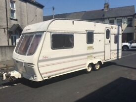 Twin axel 4 berth Luna Eclipse planet Ideal start up van ,cheap holidays for the summer