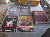 DIRTY SANCHEZ DVD'S