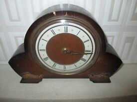 Andrew Mantel Clock Made in Great Britain.