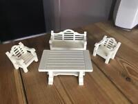 Playmobil garden furniture set