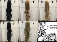 Stunning Long Wavy Ponytails (28 inches)