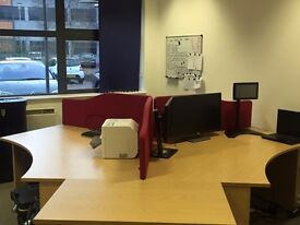 Co- working desk space available £200 pp per month- 6 desks available.