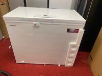 Ex-display KENWOOD 250 litre chest freezer with 1 year warranty