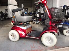 Mobility scooter Shoprider Cadiz 8 mph with 6 months warranty