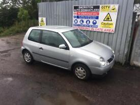 breaking for spares vw lupo 1.0 2002