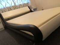 King Size Bed with Luxury Mattress ** CHEAP ** MINT **