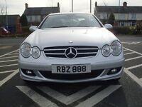 ** Mint 2006 Gleaming Silver Mercedes Avantgarde CLK 220 CDi **
