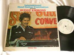 BUDDY EMMONS International Steel Guitar Convention 1977 Vol. 2 Bobby Caldwell LP