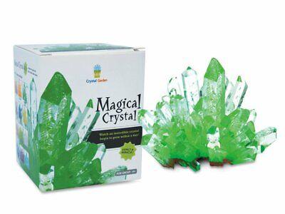 EMERALD GREEN Magic Crystal Growing Kit Mystic Rock Garden Science Experiment - Magic Science Kit