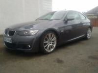 2007 BMW 320d M Sport Coupe 130kW grey 97700miles