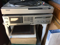 SONY turntable PS-LX22 and Receiver STR-VX10L Vintage