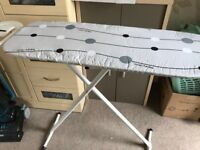 Ironing board with cover & iron