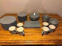 Ikea Grey Dinera dinner set