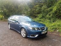 2008 SAAB 9-3 AERO 1.9TTID,TWIN TURBO,MOT OCT,2 KEYS,07716710529