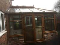 Upvc Conservatory ,professionaly dismantled (+ MORE CONSERVATORIES !)