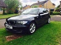 BMW 118d black 3 door