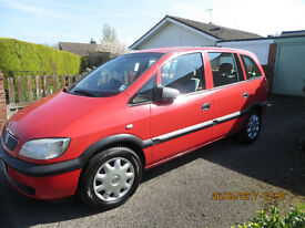 Vauxhall Zafira W reg (2000)