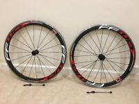 Fast Forward F4R Carbon Alloy Clincher Red Wheelset for Shimano 11 speed
