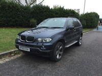 QUICK SALE - 2005 BMW X5 3.0d SPORT ESTATE 124K DIESEL AUTO FSH SAT NAV & TV FULL LEATHERS 5 SEATS