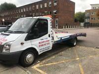 2008 Ford Transit Tow Recovery Truck Lwb 2.4 6 speed 140ps New Mot