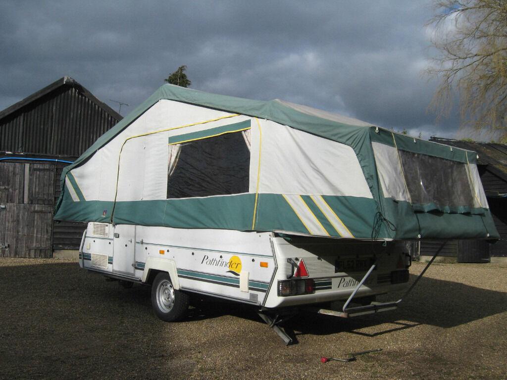 Pennine Pathfinder 600 Tc Folding Camper 6 Berth Flush