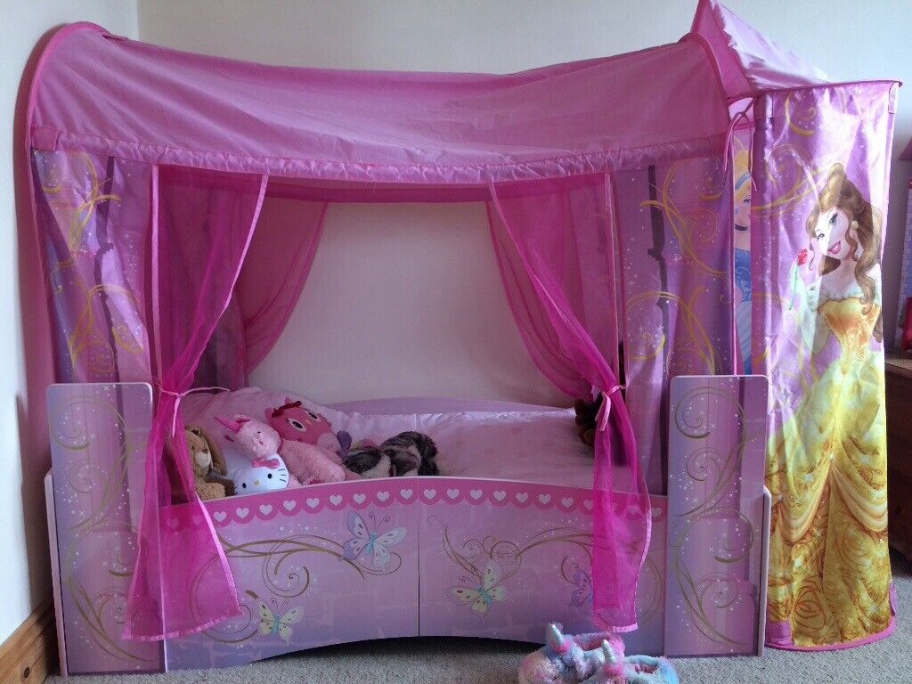 - Disney Princess Toddler Bed In Bishop Auckland, County Durham