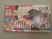 Brand New in Packaging Best 50 Games Compendium, Chess, Ludo, etc. Great for Christmas!