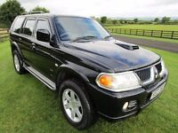 2006 MITSUBISHI SHOGUN SPORT 2.5 TD WARRIOR ### 2 OWNERS ### ONLY 92000 MILES ###