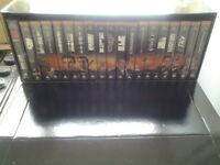 James Bond 007 Widescreen VHS Collection boxset plus additional films for sale.