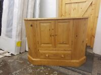 Pine TV Cabinet (Solid)