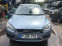2006 Ford Focus Sport 5dr 1.6 Petrol Blue BREAKING FOR SPARES