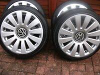 "18"" Audi R8 multi fitment 5x112 by 5x100 alloys wheels"