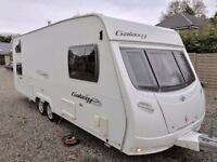 Lunar Galaxy 615 Caravan - 5 Berth / 6 Berth, Fixed Bunk (FB) at Back, Twin Axel, 2008
