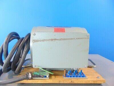 34 Hp 3500 Rpm Nobrush 30-005 Georator Motor Generator Phase Converter 1ph-3ph