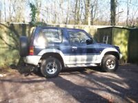 mitsubishi,Pajero 2.8 cc diesel SWB,automatic,tax,mot,s/history,perfect drive,private sale,nice car.