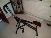 Total Crunch Body Revolution System Workout Fitness Exercise Gym Equipment