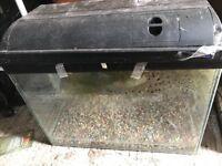 100 litre fish tank.