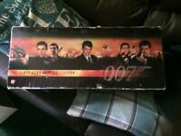 For sale a Collection of 007 vhs films