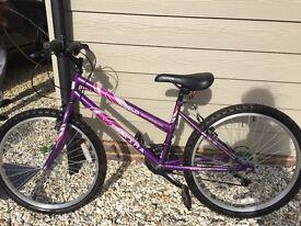 Girls 14 inch frame bike for sale