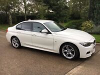 Immaculate White BMW 3 Series 2.0 320d M Sport 4dr
