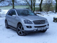 2008 Mercedes ML320 CDI 4Matic Special Edition 10 Auto 4X4
