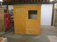 quality 6ft x 4ft garden shed for sale new unused