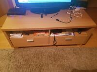 Nice sofa, tv table and bookcase! 3 for £50!
