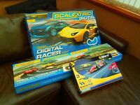 SCALEXTRIC DIGITAL SET WITH EXTRAS