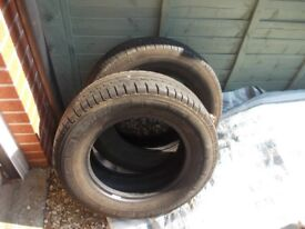 225 65 16c tyres vgc