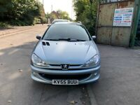 2005 Peugeot 206 SW S Estate 2.0 Diesel Silver BREAKING FOR SPARES